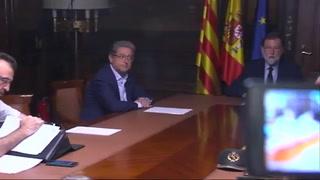 Rajoy llama a la unidad tras ataque en Barcelona