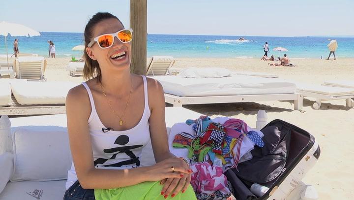 ¿Qué lleva Laura Sánchez en su maleta?