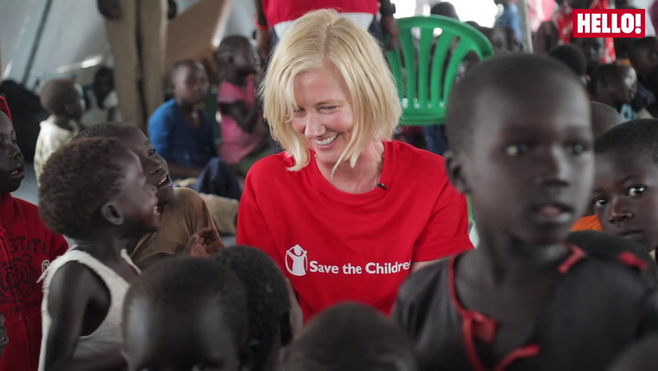 Joely Richardson marks world refugee day with an exclusive video diary in Uganda