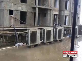 کراچی میں موسم سرما کی پہلی بارش