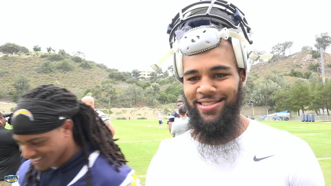 Keenan Allen on recovery from kidney injury & the speedy Travis Benjamin