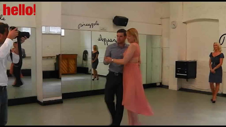 Strictly\'s Kristina Rihanoff gives a very special dance class
