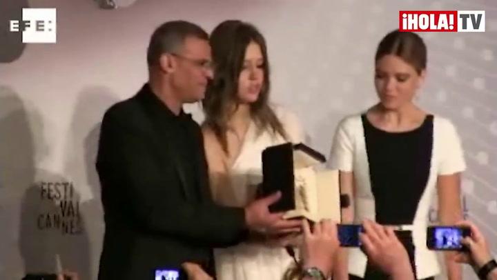 Y \'La vie d\'Adèle\'... se llevó la Palma de Oro en Cannes