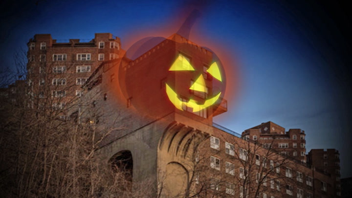 Inside 'The Pumpkin House,' the Amazing NYC Home That Resembles a Jack-o'-Lantern