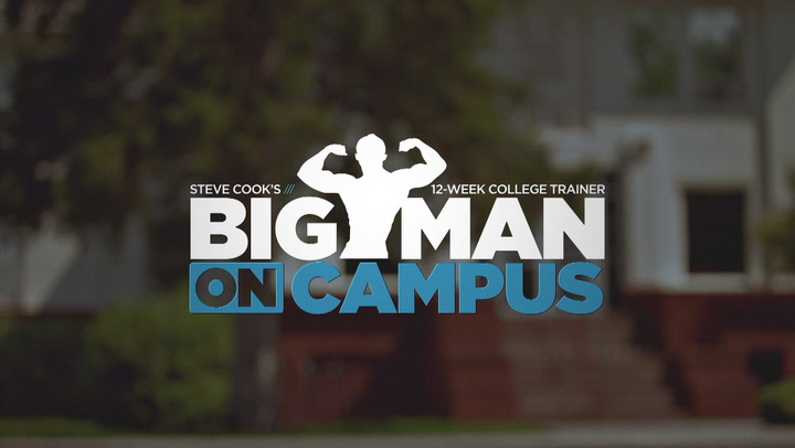 Steve Cook's Big Man On Campus Training Program | Trailer