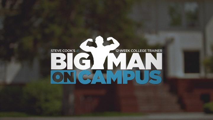 Steve Cook's Big Man On Campus Training Program | Trailer