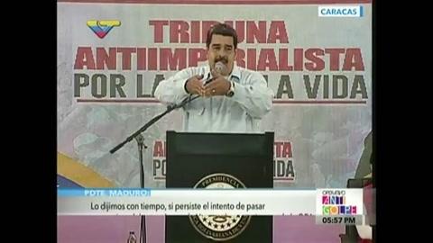 Nicolás Maduro manda a la OEA y Luis Almagro