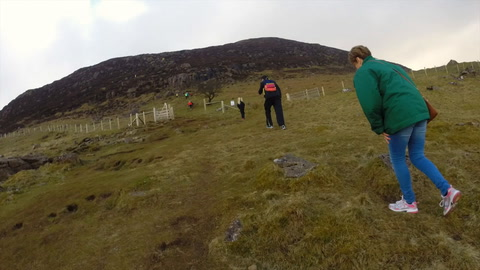 Video: climbing Slemish on St Patrick's Day