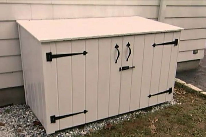 How To Build An Outdoor Garbage Enclosure