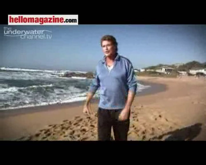 Watch David Hasselhoff\'s \'Sharkwatch\' exclusively on The Underwater Channel at www.theunderwaterchannel.tv from 9/9/09