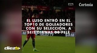 Cristiano Ronaldo contra las leyendas