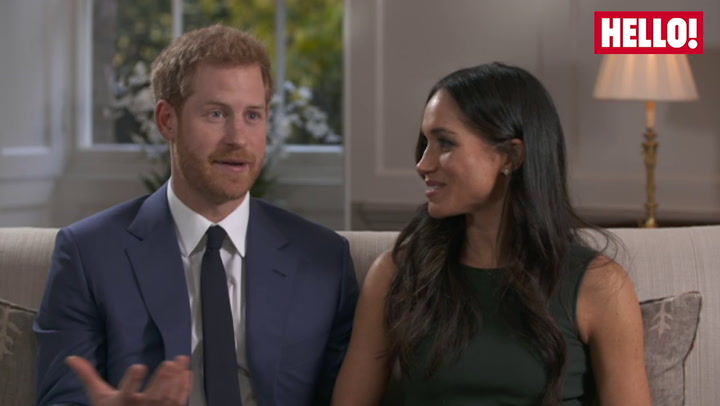 Prince Harry And Meghan talk about meeting his family