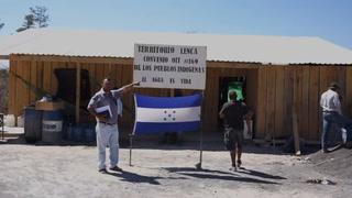 Indígenas hondureños en resistencia contra hidroeléctrica