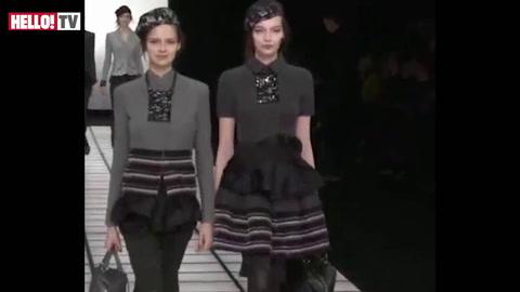 Milan Fashion Week: Emporio Armani Autumn/Winter Collection