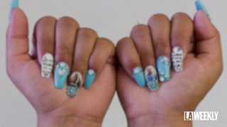 This Sinaloan Stylist Makes Swank Nails Inspired by Cartel Boss El Chapo