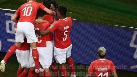 Brasil empata contra Suiza y deja mucho qué desear
