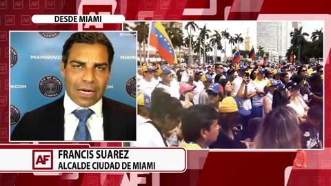 Alcalde de Miami Francis Suarez y el comisionado Joe Carollo anuncian mega evento por la Libertad de Cuba