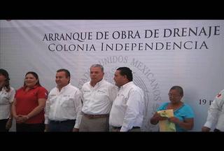 Continúan obras en Reynosa