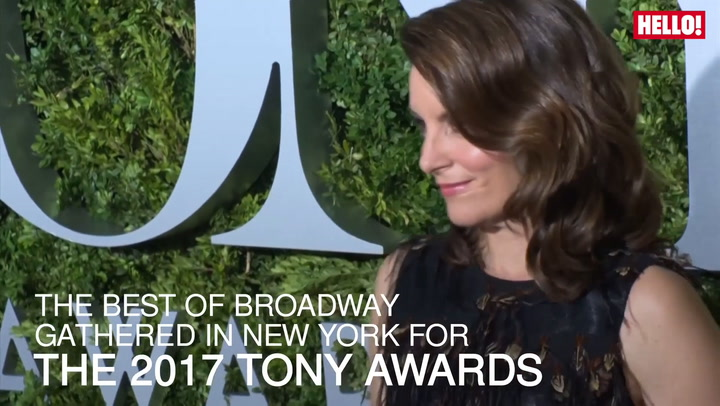 Stars of the stage take to the red carpet for the 2017 Tony Awards