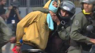 Huelga de 48 horas contra Maduro deja siete muertos