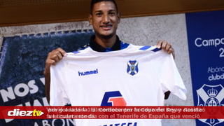 Bryan Acosta fue protagonista en triunfo del Tenerife en la Copa del Rey