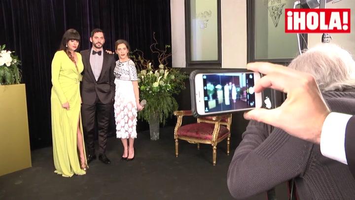 Paco y María León, minutos antes de recibir el Premio Feroz, explican el motivo de la ausencia de Carmina