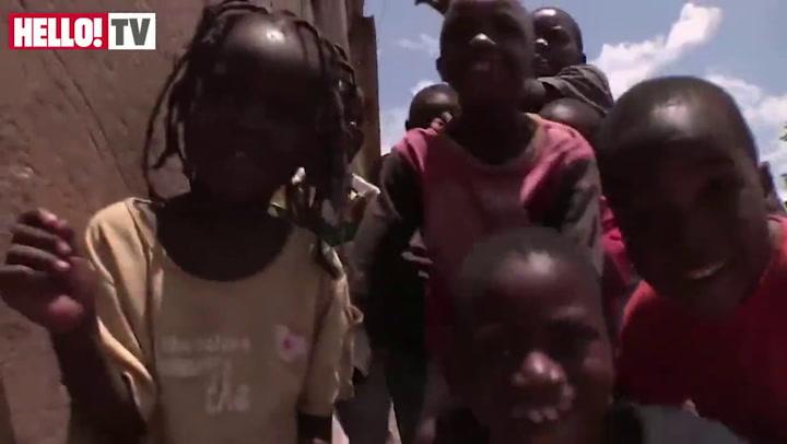 Pixie Lott in Zambia for Sports Relief