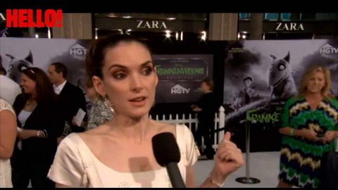 Winona Ryder on her 25yr friendship with Tim Burton