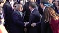 Davutoğlu'nun Cemevi çıkışında önünü kesen bir vatandaş elini öpmek istedi
