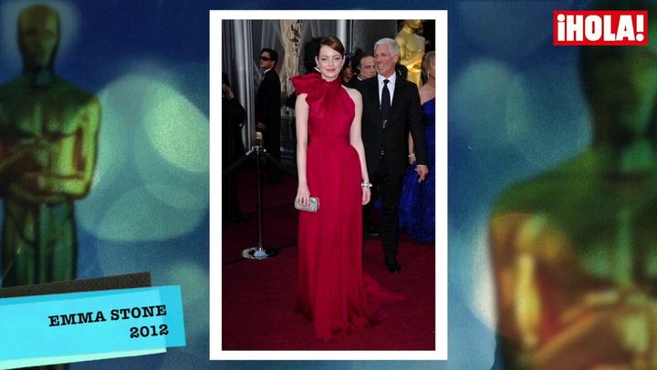 Vestidos inolvidables de la historia de los Oscar