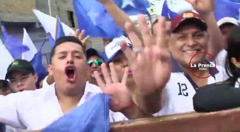 Partido Nacional se manifiesta en las calles de Honduras