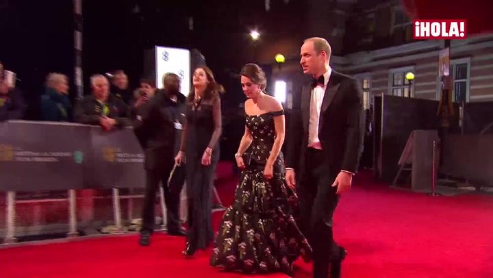 Los Duques de Cambridge, Penélope Cruz, Emma Stone… las estrellas brillan más que nunca en los BAFTA