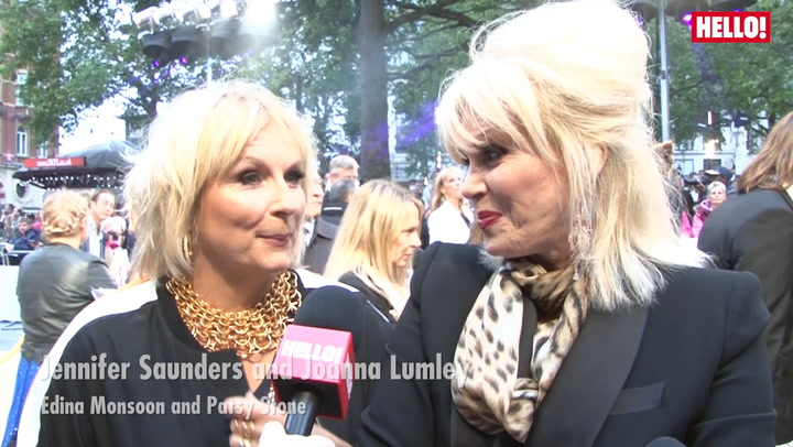 Ab Fab: The Movie - Jennifer Saunders, Joanna Lumley & the cast chat to HELLO!