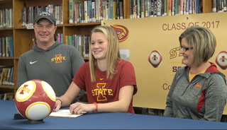 New Berlin Sullivan Signing