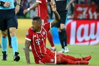 Así fue la lesión que sufrió Boateng en el Bayern Múnich vs Real Madrid