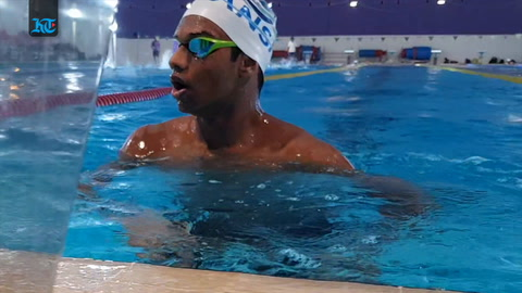Meet the Dubai schoolboy carrying India's swimming hopes