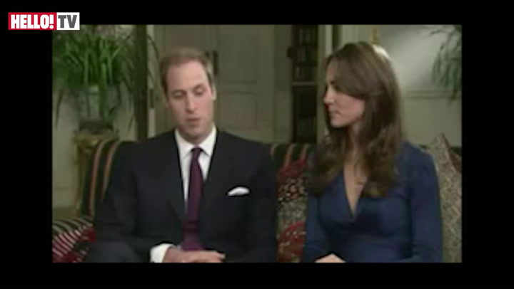 William describes his \'romantic\' proposal