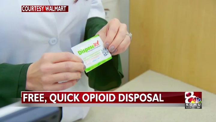 Walmart offering free opioid disposal method