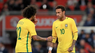 La respuesta de Marcelo sobre aconsejar a Neymar para que ficha por Madrid