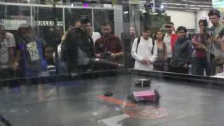 Peleas de robots, protagonistas en Jalisco Campus Party