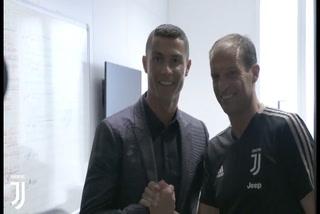 Así recibió la plantilla de Juventus Cristiano Ronaldo