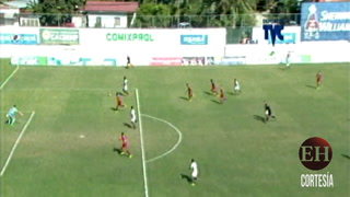 Motagua se va al descanso ganando 1-0 ante Platense