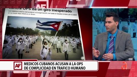 Demanda de médicos cubanos contra OPS da un giro inesperado
