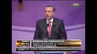Erdoğan, Zaman Gazetesi'ni anlatıyor