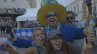 Mardi Gras Comes To Galveston