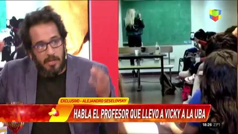 Profesor que invitó a Vicky Xipolitakis a la UBA: La llevé como objeto de estudio