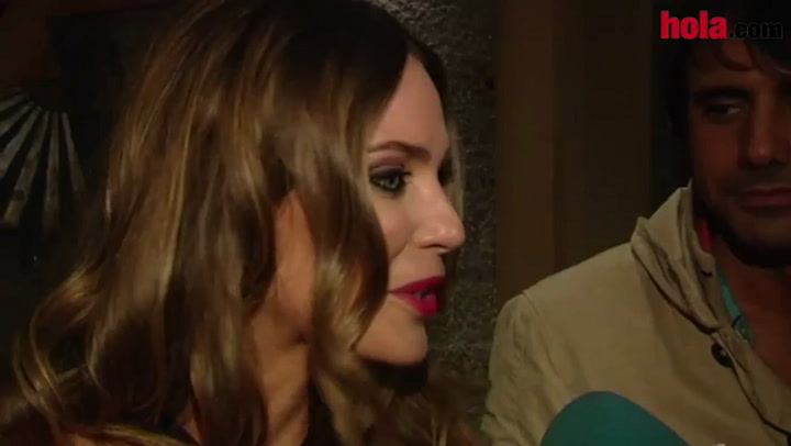Vanesa Romero: \'Si Miren Ibarguren hace feliz a Alberto, yo estoy feliz\'