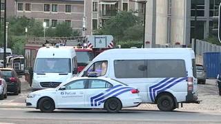 Incidente en la estación de Bruselas, tratado como terrorista
