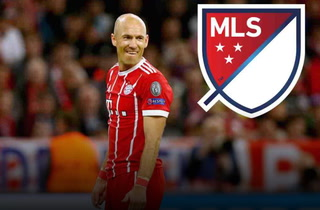 El holandés Arjen Robben analiza jugar en la MLS