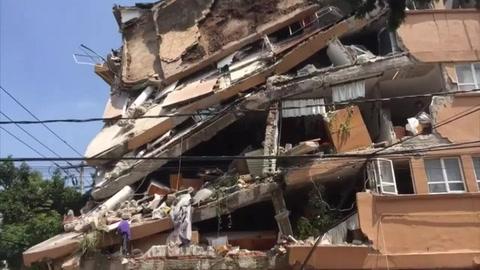 Se registran primeros 91 muertos por terremoto en México